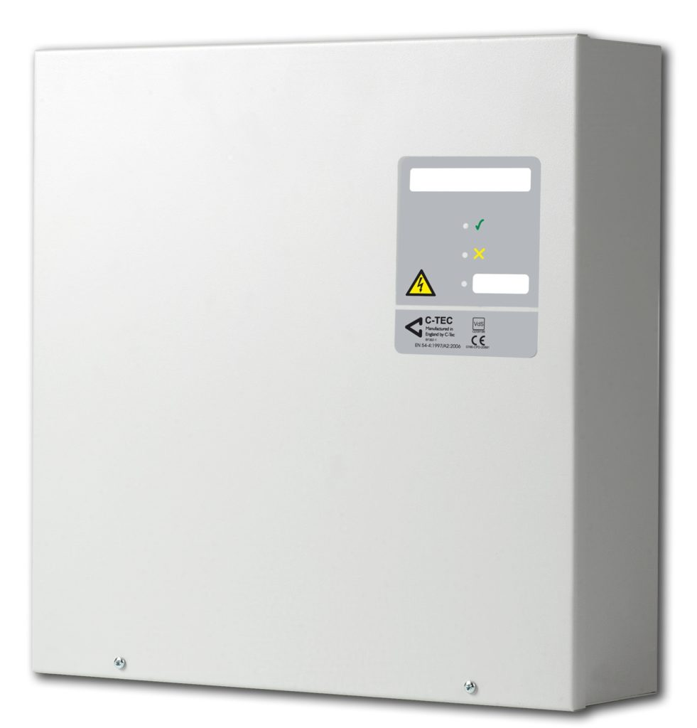 EN54-4 strømforsyning 4A/18Ah Image