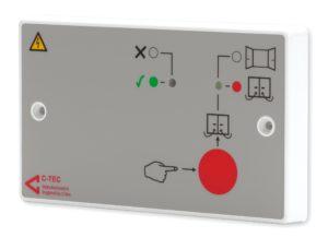Strømforsyning for dørholdemagneter Image